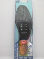Activated carbon insole blister